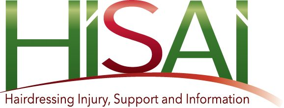 hairdresser injury support and information